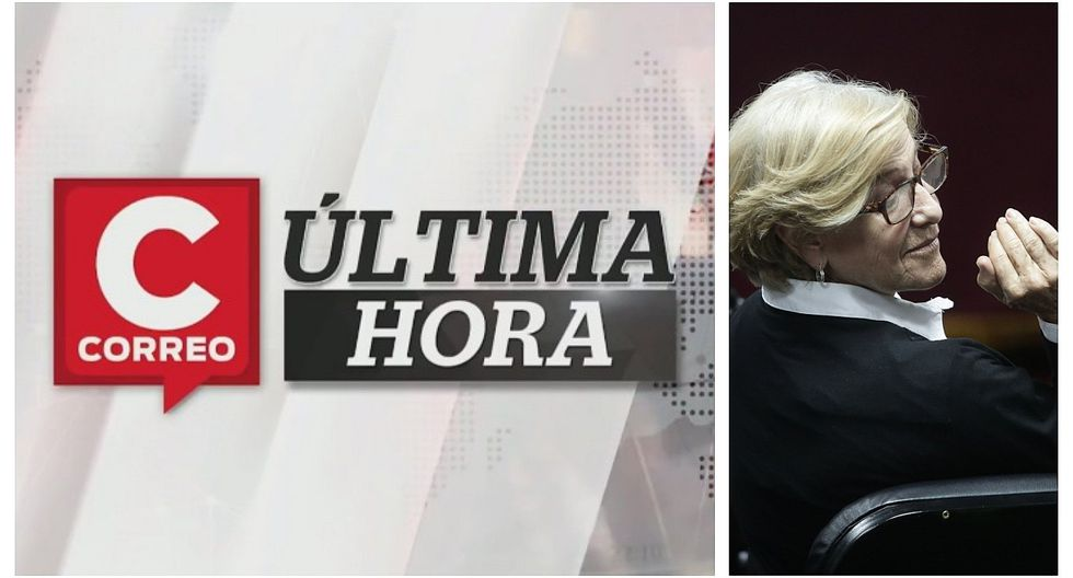 Correo Última Hora: Poder Judicial ordenó 18 meses de prisión preventiva contra exalcaldesa Susana Villarán