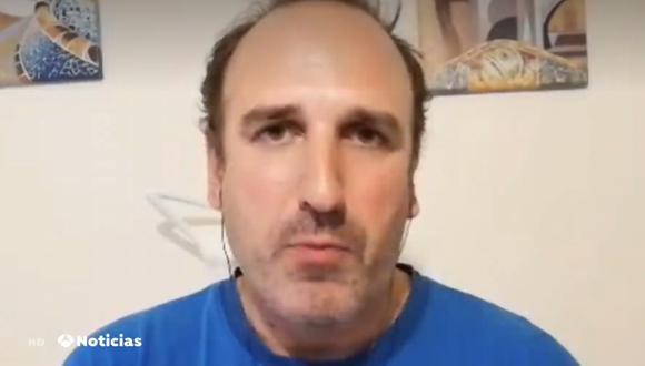 Las declaraciones del enfermero español han dado esperanzas en hallar la vacuna contra el COVID-19 (Captura: Antena 3)