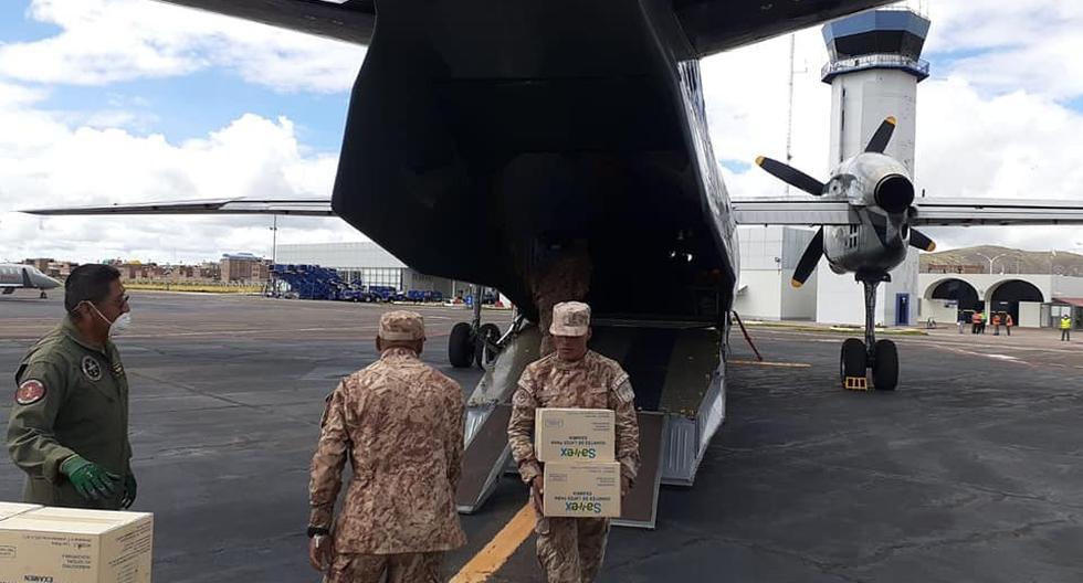 Fuerzas Armadas cumplen un rol importante en esta lucha contra el coronavirus. (Ministerio de Defensa)