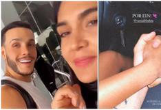 Mario Irivarren y Vania Bludau se reencuentran y confirman su relación con tierno beso (VIDEO)