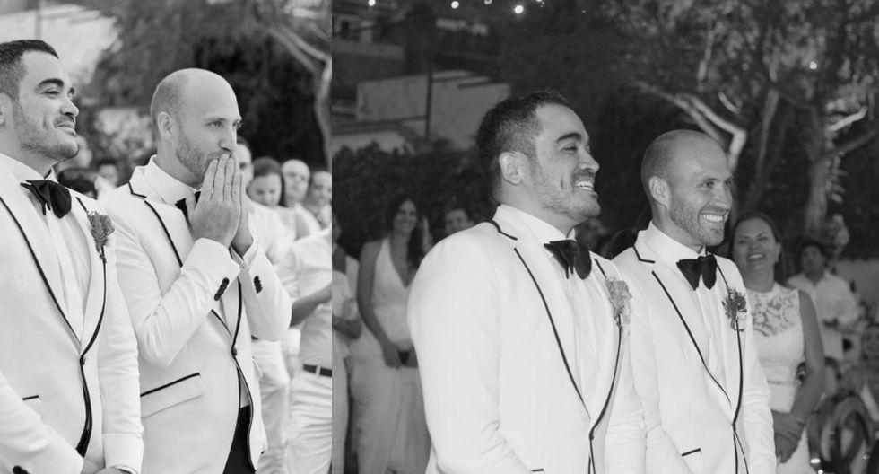 La pareja se casó en una residencia ubicada en el distrito de Surco. (Foto: Yirko Sivirich)