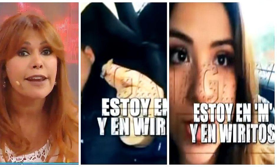 Magaly Medina sorprende al difundir polémico video de Doménica Delgado (VIDEO)
