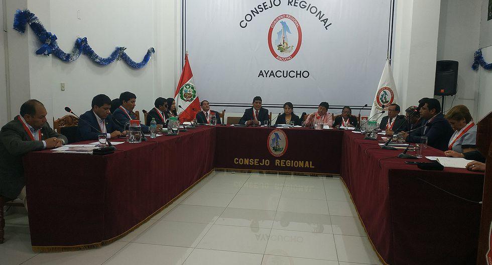 Consejo solicita 600 mil soles de presupuesto adicional al Gobierno regional de Ayacucho