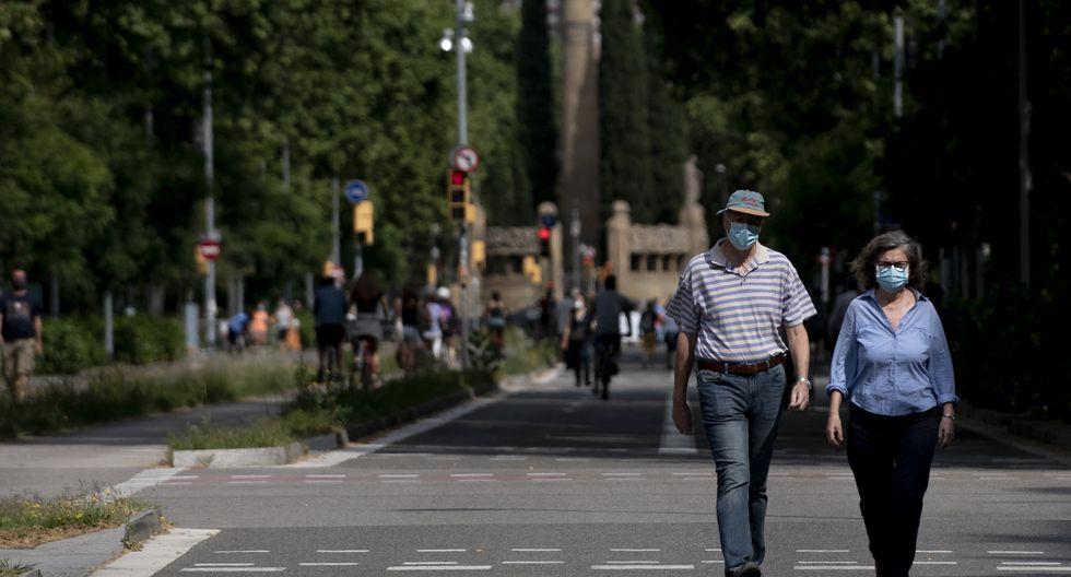 La región de Madrid informó hoy de 15 contagios este sábado, pero ningún muerto ese día. (Foto: Josep LAGO / AFP)