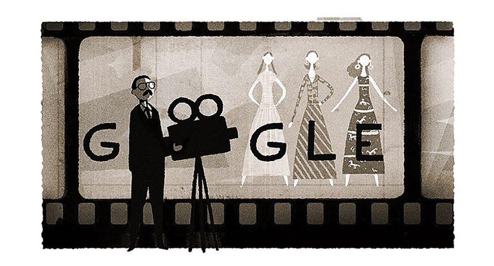 Google celebra el 97 aniversario de Usmar Ismail