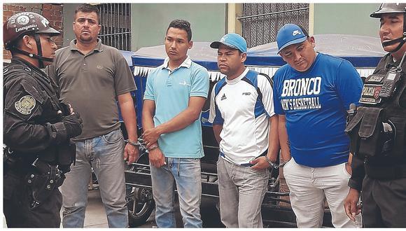 Venezolanos fueron condenados a 12 años de cárcel por el delito de robo agravado