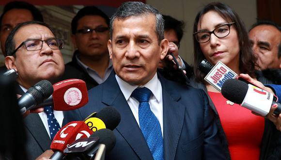 """Ollanta Humala: """"Insistiremos en nuestro pedido de contar con un juez imparcial"""""""