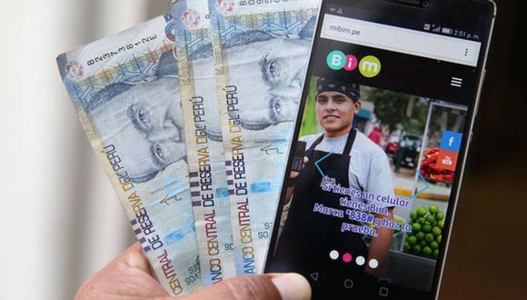 Este método le permite al perceptor (responsable) del subsidio cobrar los 760 de forma online (Foto: Andina)