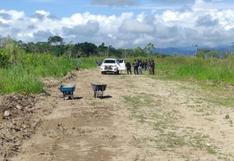 San Martín: PNP interviene pista clandestina utilizada por narcotraficantes en Tocache (VIDEO)