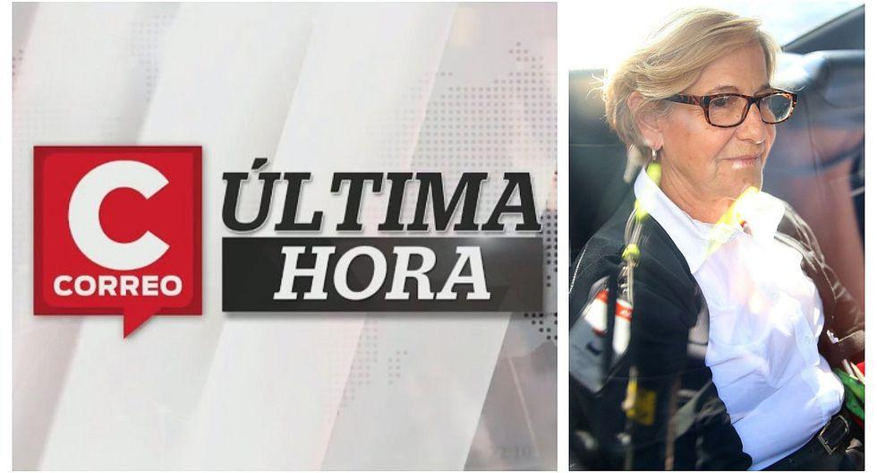 Correo Última Hora: Susana Villarán pasó su primera noche en Penal Anexo de Mujeres