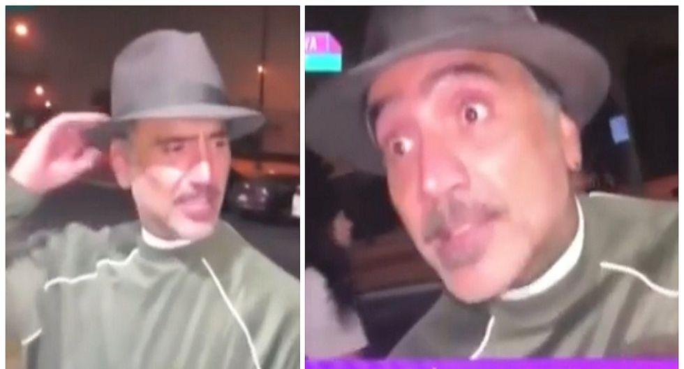 Alejandro Fernández reacciona furioso contra reportera en Los Ángeles (VIDEO)