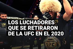 Conoce a los grandes luchadores que se retiraron de la UFC en el 2020