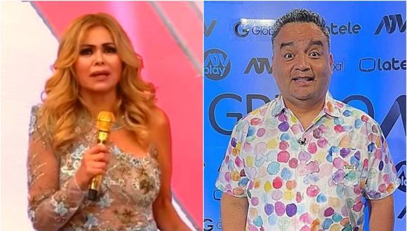 Gisela Valcárcel y Jorge Benavides pugnan por el rating sábado a sábado.
