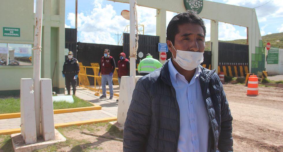 Intervienen fábrica cementera de Caracoto por Estado de Emergencia