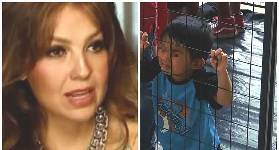 """Thalía conmovida por situación de niños inmigrantes en EE.UU.: """"Me parte el alma"""" (FOTO)"""