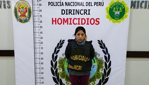 Rosario Manrique Llacua habría suplantado la identidad de una obstetra. (Foto Policía Nacional)
