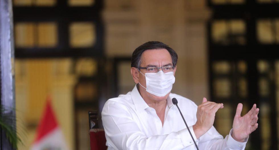 Presidente Martín Vizcarra no fue indiferente al pedido de un padre de familia (Foto: GEC)