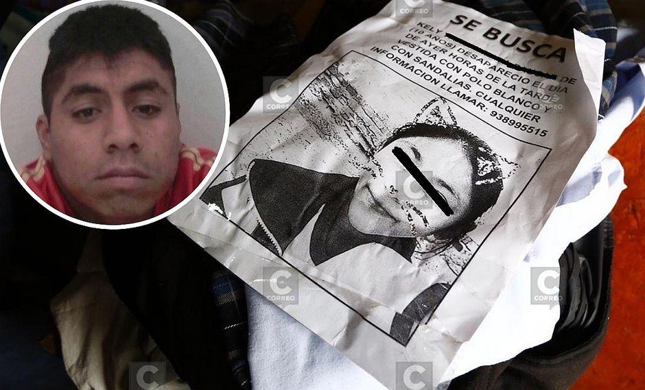 """Asesino confeso de la pequeña Kelly: """"Yo ya tenía la intención"""" de secuestrarla"""