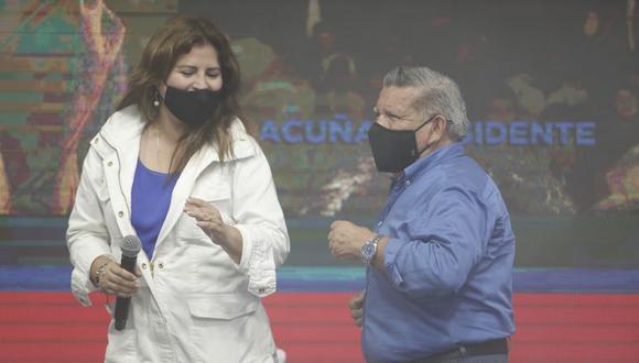 Carmen Omonte es candidata de Alianza para el Progreso a la Vicepresidencia de la República. (Foto: César Campos / GEC)