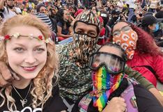 Expulsan de Colombia a alemana que participó en protestas contra el gobierno