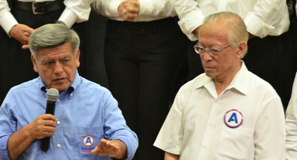 Humberto Lay renunció a ser vicepresidente de César Acuña