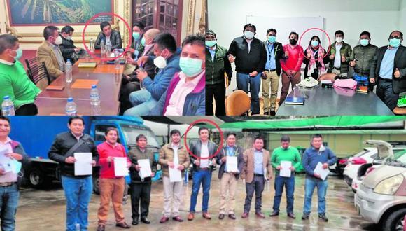 Este Diario también se comunicó con otro asistente de la reunión: Ever Huarhua, alcalde del distrito Coronel Castañeda (Ayacucho). La autoridad admitió que los burgomaestres se comprometieron con Bermejo para recolectar firmas.