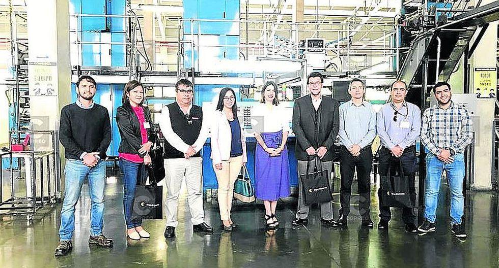 Delegación de la Universidad Tecnológica del Perú resaltó trabajo del GEC