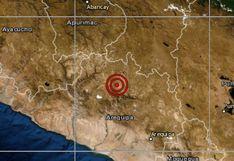 Arequipa: temblor de magnitud 4,0 se reportó en Castilla, señala IGP