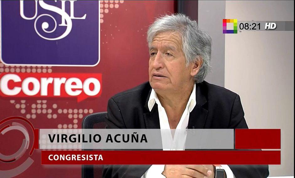 Virgilio Acuña: la campaña se ha guiado por desacreditar a los contrincantes