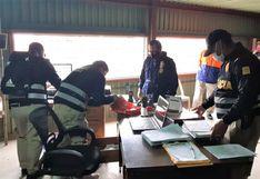 Ancón: Fiscalía interviene municipio por presunta entrega irregular de víveres a servidores públicos