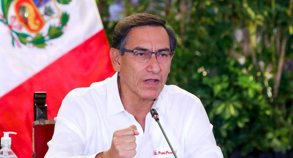 Martín Vizcarra. (Foto: AFP)