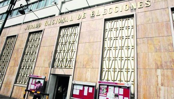 El JNE se enfrenta al Congreso y expresa su preocupación por la nueva Ley de Partidos