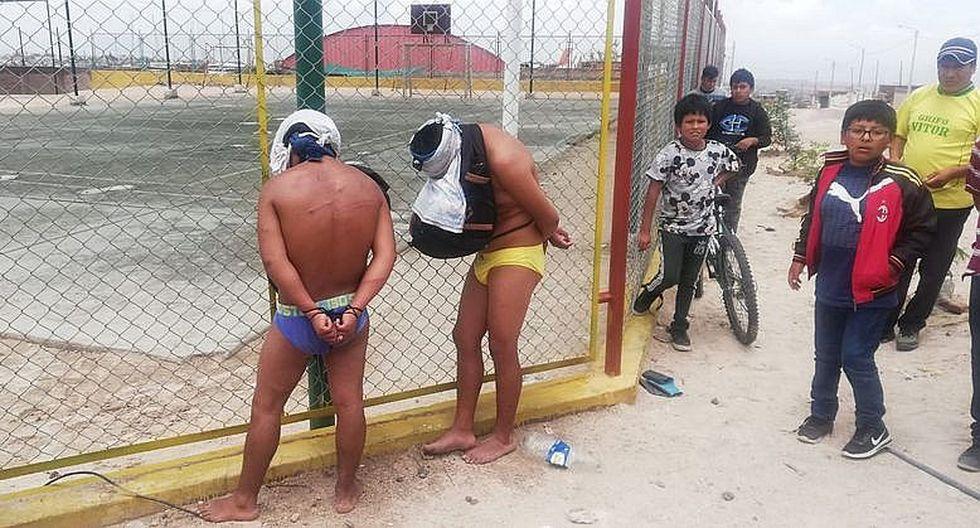 Pobladores de Apipa capturan y castigan a dos varones acusadas de robo