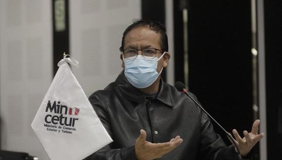El ministro Roberto Sánchez espera que haya sensatez en el Ejecutivo y Legislativo. (foto: Andina)