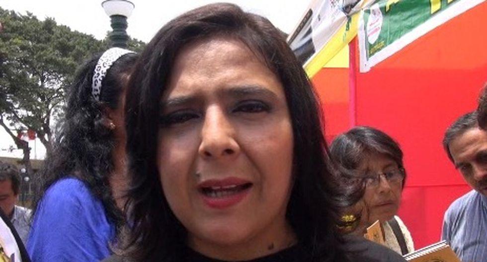 Ana Jara ofrece asesoramiento de gobierno a deudos de policía asesinada
