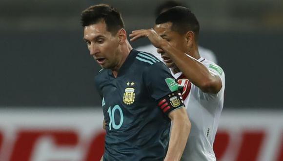 Hoy, Perú vs. Argentina: ver aquí el minuto a minuto por Eliminatorias Qatar 2022. (Foto: AFP)