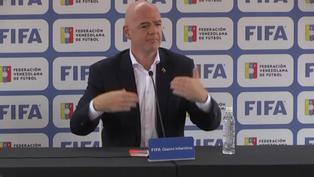 """Un Mundial cada dos años hará que el fútbol """"sea global"""", dice Gianni Infantino"""