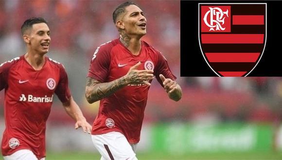 Paolo Guerrero debuta hoy en el Brasileirao frente a su exequipo Flamengo