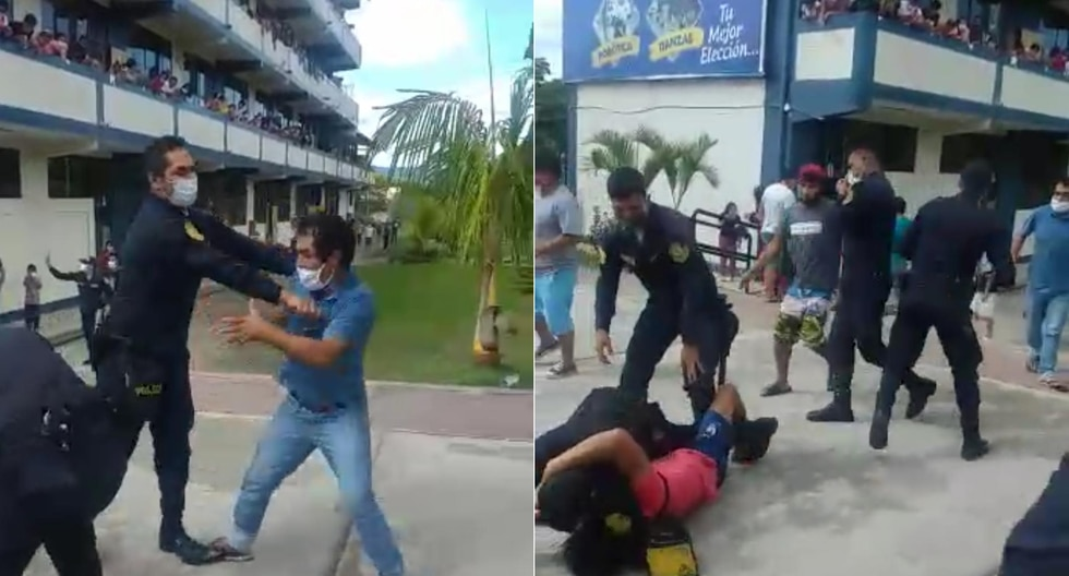 Intervenidos en refugio de la región San Martín serían denunciados por los presuntos delitos de violación a las medidas sanitarias, violencia contra la autoridad y disturbios. (Fotos: Fiscalía)