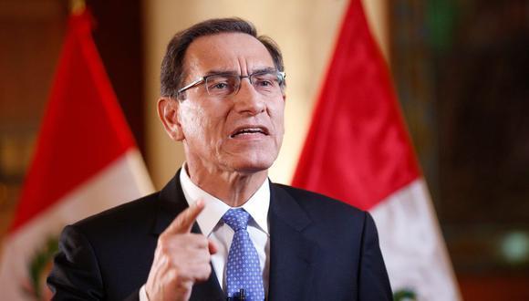 Martín Vizcarra no brindará conferencia de prensa. (Foto: Presidencial)