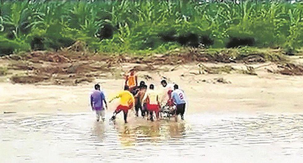 Tumbes: Agricultor muere ahogado cuando cruzaba río Zarumilla