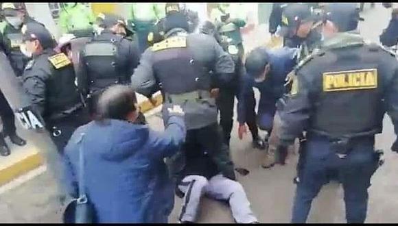 Detienen al presidente del Consejo Regional de Puno