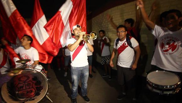 Perú vs Venezuela: La blanquirroja alista el 'banderazo' (VIDEO)