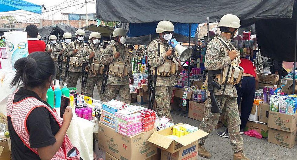 Piden regalar alimentos y bebidas a personal de la Policía y FF. AA. durante aislamiento.