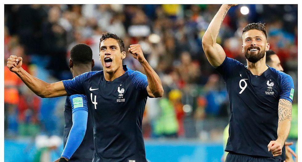 Rusia 2018: Francia venció a Bélgica por 1-0 y jugará su tercera final mundialista