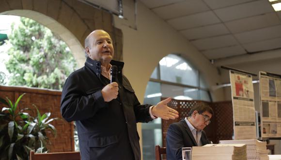Hernando de Soto, excandidato presidencial por Avanza País. (Foto: Anthony Niño de Guzmán / @photo.gec)