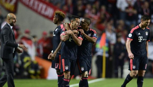 Bayern Munich clasificó a la semifinal de la Champions League