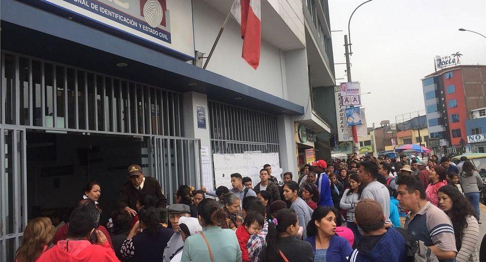 Reniec: trabajadores inician huelga indefinida desde hoy, ¿qué trámites se suspenden?
