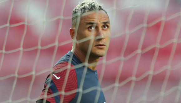 Keylor Navas cumple su primera temporada en PSG. (Foto: AFP)