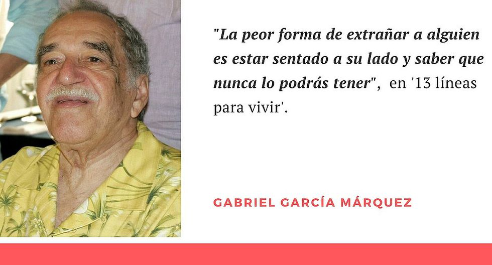 Gabriel García Márquez Las 10 Mejores Frases Del Escritor